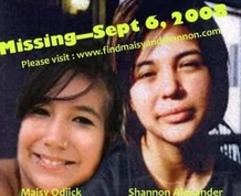Shannon Alexander and Maisy Odjick border=